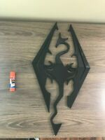 Skyrim Logo wall art sign decoration 20in x 10in