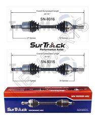 For Saturn Vue FWD 2002-2003 3.0L V6 Pair of Front CV Axle Shafts SurTrack Set