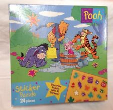 Lot Of Winnie The Pooh Items, Hats Plush Stuffed Animals Puppet