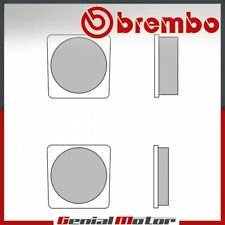 Pastiglie Brembo Freno Anteriori 07YA05.27 per Yamaha RX DX 100 1980 > 1982