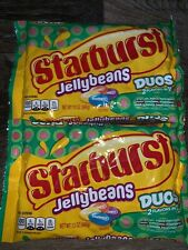 Starburst ~  Jelly Beans Duos Easter Candy 2-Bags 13 oz Each ~  01/2021