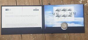 2000 Millenium Moment £5 Five Pound Coin Cover Royal Mint Royal Mail FDC PNC