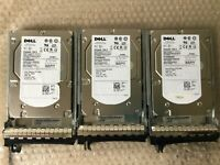 """Dell 450GB 15K RPM 3.5"""" LFF SAS HDD with Caddy ST3450856SS,9CL066-050,HS09 1341"""