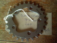 26 TOOTH 74BCD BLACKSPIRE  ALLOY  CHAINRING