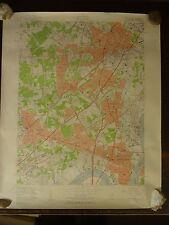 1956 - Map of PERTH AMBOY Quadrangle - NEW JERSEY - NEW YORK - Topographic