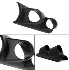 UNIVERSAL 2'' / 52MM ABS DUAL HOLE PILLAR GAUGE POD MOUNT HOLDER CARBON FIBER