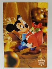 WDCC Disney Post Card Mickey Mouse Presents Holiday Series Pluto Christmas 4 x 6