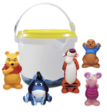Disney Store Winnie the Pooh and Pals Bath Toy Set New with Case