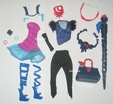 Monster High Jane Boolittle Doll Complete Outfit Clothes Set Dress & Shoes NEW