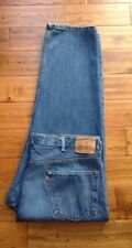 INCREDIBLE! Levi's 550 Relaxed Fit Men's Jeans 46x32 ACTUAL 46x31 AWESOME LOOK!
