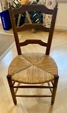Antique French wooden kitchen chair colour brown