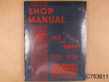 1935 1936 Pontiac Shop Repair Manual 6 & 8 Cylinder Models; 198 Pages, C753611