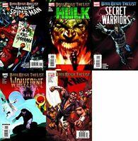 Dark Reign: The List Assorted Lot Marvel Comics - 5 Comics