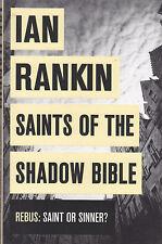 IAN RANKIN - saints of the shadow bible BOOK