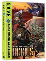 Chrome Shelled Regios - S.A.V.E. [New DVD] Boxed Set