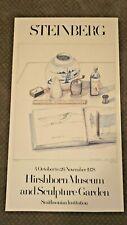 1978 Saul Steinberg Hirshhorn Smithsonian Museum Exhibition Poster  - 55568