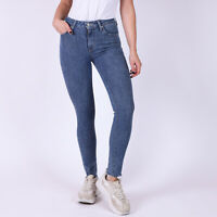 Levi's 721 High Rise Skinny Blau Damen Jeans DE 32 W25 L30