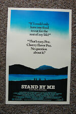 Stand by me Movie Poster Lobby Card River Phoenix Wil Wheaton
