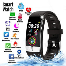 Bluetooth Smart Watch Phone w/ SPO2 + BP Monitor + SMS Alert For iPhone Android