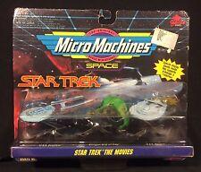 Vintage Star Trek Micro Machines Movie Set