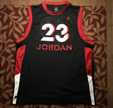 Vintage Jordan Jersey Rare Chicago Bulls 23 Mens Size 2XL Embroidered Letters