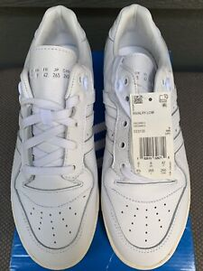 NEW IN BOX ADIDAS Originals Rivalry Low White Men's Sneakers #EE9139 Size 8.5