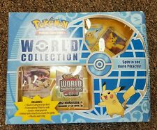 Pokémon Pikachu World Collection Box Set 9 Pikachu cards Extremely RARE LOOK