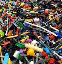 LEGO LOT 100 MINIFIGURE ACCESSORY PIECES! TOOLS ITEMS WEAPONS SWORDS RANDOM PICK