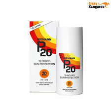 Original Riemann P20 Once a Day 10 Hours Protection Lotion SPF20 Sunscreen 100ml