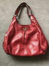 COACH Madison Maggie  Red Wine Colour Hobo Bag