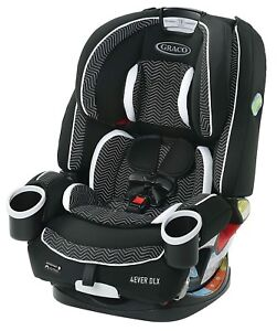 Graco Baby 4Ever DLX 4-in-1 Car Seat Infant Child Safety Zagg NEW