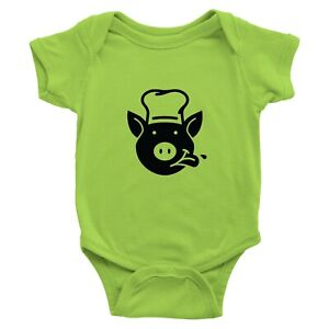 Cute Piggy Pig Infant Baby Bodysuit Romper One Pieces T-Shirt Babies Gift Funny