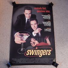 ORIGINAL 1996 MOVIE POSTER SWINGERS  SINGLE SIDED  27'' X 40''