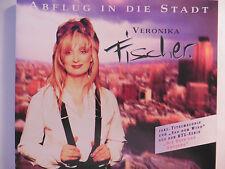 """Veronika Fischer   Abflug in die Stadt   5"""" Promo Maxi-CD 1995 + Info Sheet rar!"""