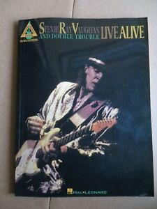 Stevie Ray Vaughan Live Alive Guitar Tab Book Songbook