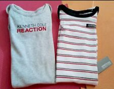 AUTH.BNWT KENNETH COLE REACTION 2 PACK INFANT/ NEWBORN NIGHT GOWNS (0-9mos.)