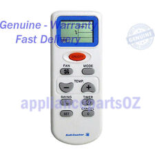 ACC050 Kelvinator Remote Universal Air Conditioner Universal  This is compatible