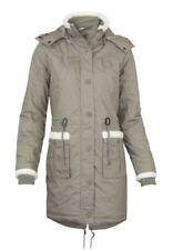 Cappotti e giacche da donna parke marrone fantasia nessuna fantasia