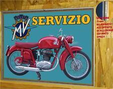 MOTO AGUSTA 175 del 1955 -TARGA METALLO - RIP. D' EPOCA