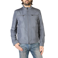 Geox Men's Bomber Grey M8221VT2451