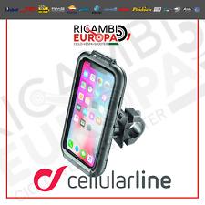 SUPPORTO CUSTODIA IPHONE 6 I PHONE 6s IPHONE 7 IPHONE  8 CELLULAR LINE MOTO CICL
