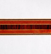 3/4 inch - Vertical Cocobolo - Buffard Frères Marquetry Banding Strip (Inlay-91)