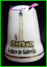 Dé à coudre Thimble Monument Paysage Le PHARE DE GATTEVILLE 50 Manche #47