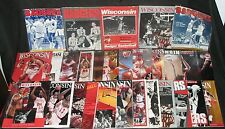 1980'S To 2000's University of Wisconsin Badger Basketball Programs Collection