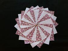 40 Red~Medium 4x4 Quilt Squares Fabric~4064aX