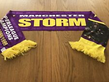 Manchester Storm Ice Hockey 1998/1999 Champions Scarf