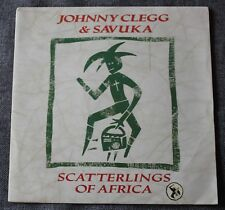 Johnny Clegg & Savuka, scatterlings of Africa / don't walk away, SP - 45 tours