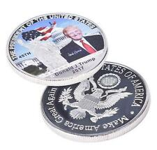 US American President Donald Trump Silver Coin US White House Coin Collection