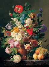 Clementoni Puzzle 1000 Teile Van Dael: Blumenvase (31415)