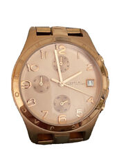 Marc By Marc Jacobs Rose Gold Chronograph Women's Watch MBM3074